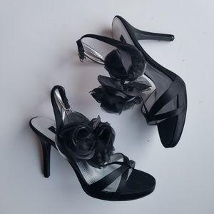 Nina Black Flamenco Stilettos